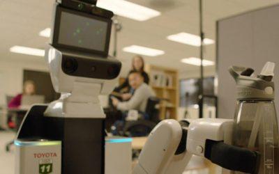 Robot voor een verlamde militair