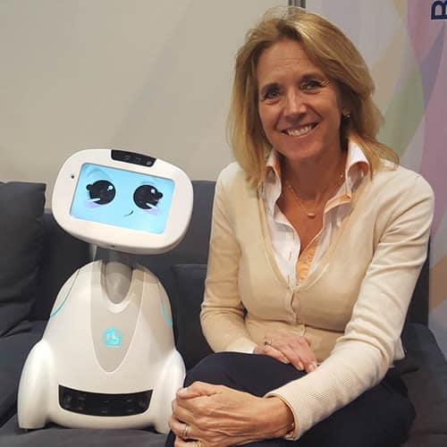 Anita van den Hoek, Robots in de zorg