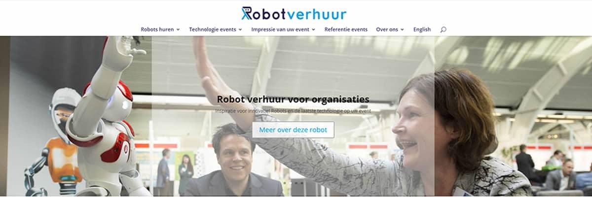 Diensten robotzorg - robotverhuur