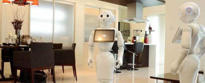 Samenleven met een robot wordt door ouderen vrij positief gezien