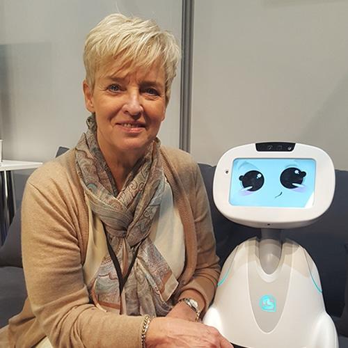 Saskia van der Meer, Robotzorg.nl