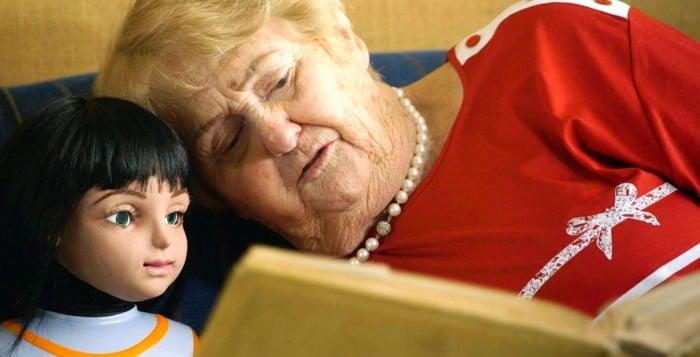 Zorgrobot voor ouderen
