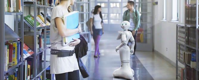 Een robot voor klantenservice