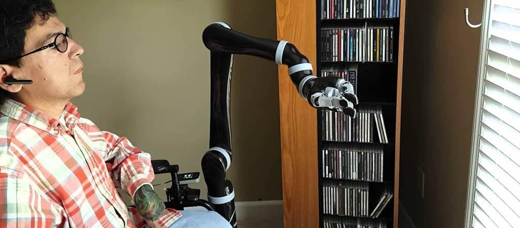 Robotarm Jaco zelfstandigheid lichamelijke beperkingen