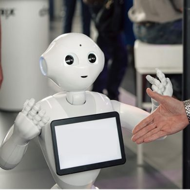 Service robot Pepper in de zorg