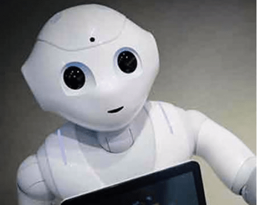 Lezing , keynote, robots in de zorg