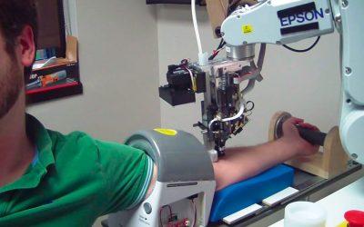 veebot bloed prik robot