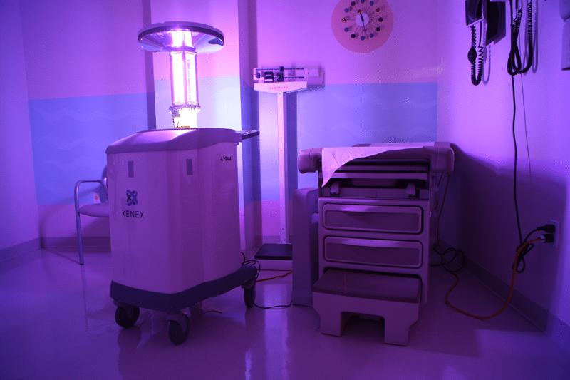 Bestrijding infectieuze micro-organismen met UV-licht – De Xenex