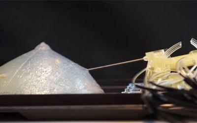 3D geprinte robot voor biopsies