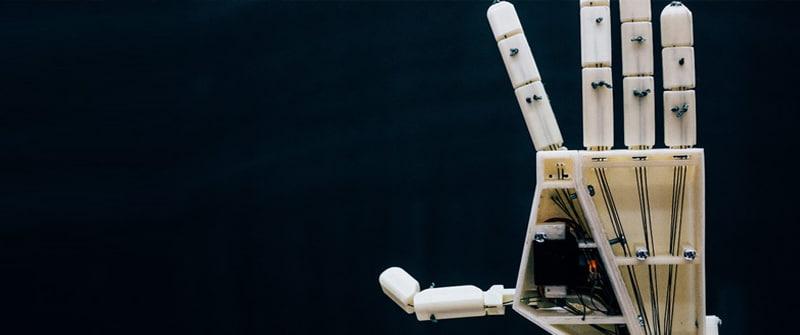 Robothand voor gebarentaal