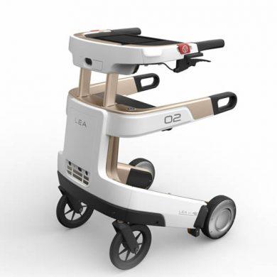 Lea, robot rollator