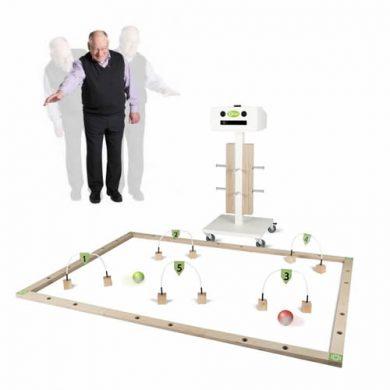 QBI, robotbal voor beweging