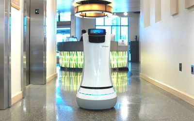 Albert Schweitzerziekenhuis proef met logistieke robot