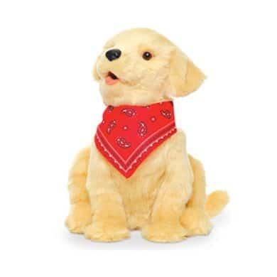 Interactieve hond, robothond, snoezel hond