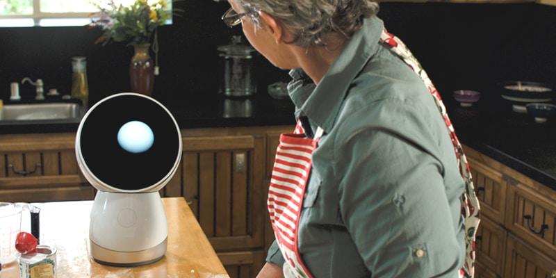 Jibo robot als hulp in het huishouden