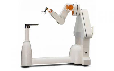Robotarm voor behandeling hersenstamkanker