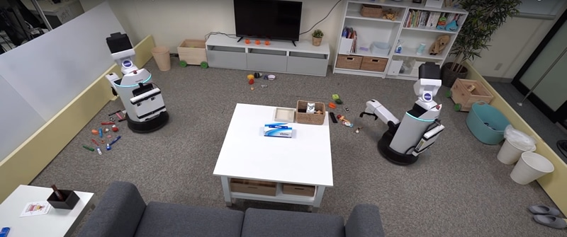 Een robot voor het opruimen van je huis