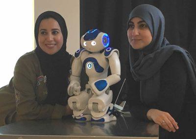 Innovatie pop-up zorg, Kennismaken met een robot, nao