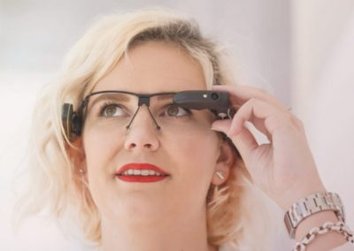 Innovatie pop-up zorg,Telewerken, telepresence bril