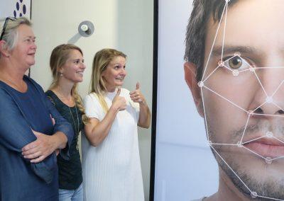 Kijken door de ogen van een robot, innovatie pop-up