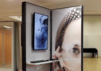 innovatie pop-up unit telewerken bibliotheek