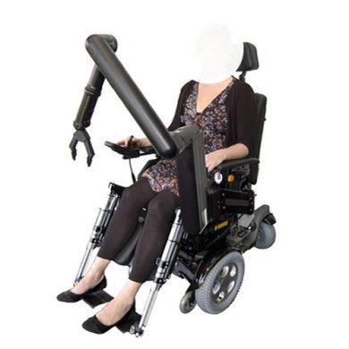 iARM robotarm voor ondersteuning
