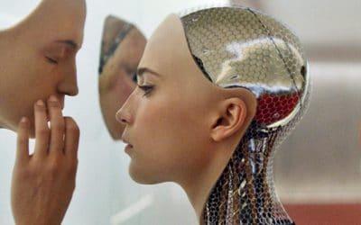 Engelstalige lezing over menselijke gevoelens binnen kunstmatig intelligente technologie