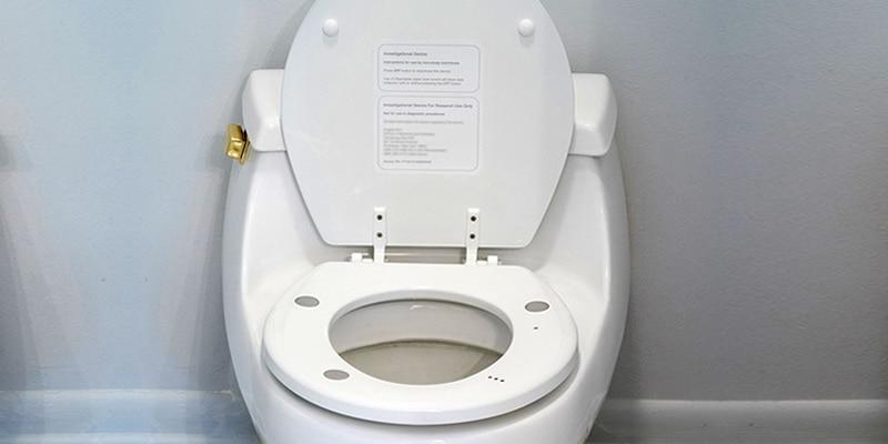 Monitoring van de hartgezondheid, op het toilet