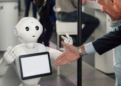 Ontmoet Pepper robot, Innovatie dag,
