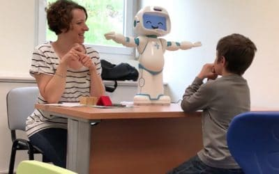 QTrobot voor kinderen met autisme verbetert de leermogelijkheden