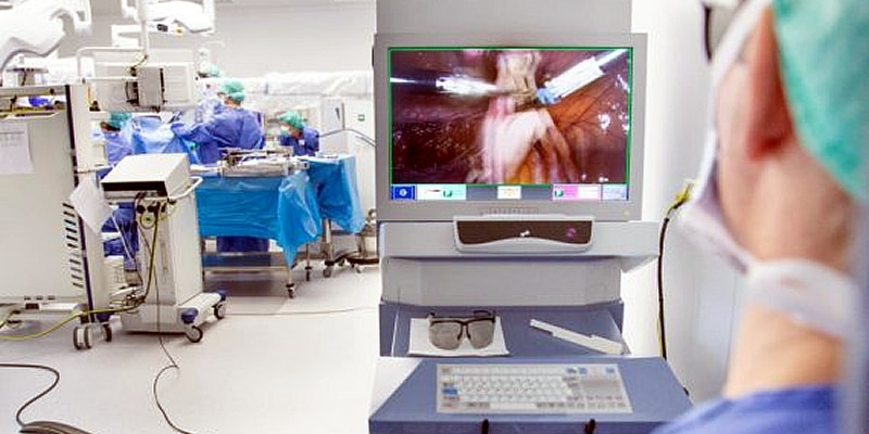 Gynaecologische operaties met operatierobot in Maxima Medisch Centrum