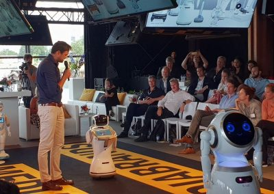 Workshop robots in de zorg