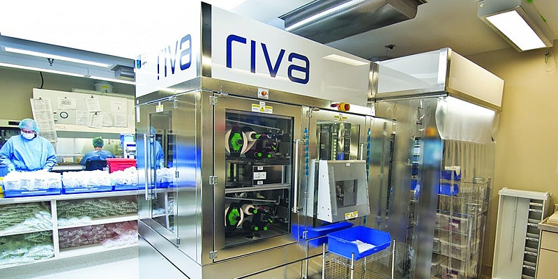 Goede resultaten Prinses Máxima Centrum met Riva Robot
