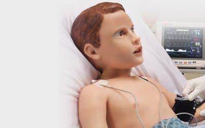 Humanoid robot voor patiënt simulatie bij medische training