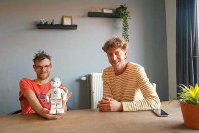 Robot Maatje helpt mensen met een verstandelijke beperking