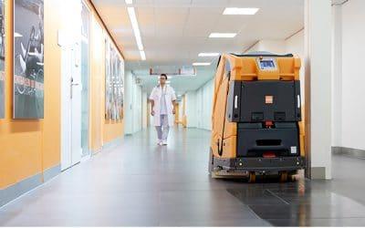 Hoe gaat het met de ontwikkeling van professionele schoonmaakrobots