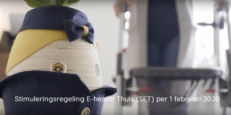Stimuleringsregeling E-health Thuis (SET) per 1 februari 2020