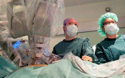 Robotchirurgie neemt snel toe
