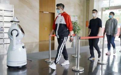 Waar kan een robot helpen bij de bestrijding van een virus